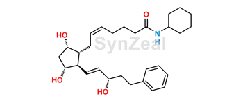 Picture of Bimatoprost Cyclohexyl Amide