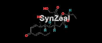 Picture of Budesonide Propionaldehyde Impurity