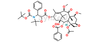 Picture of Cabazitaxel Impurity (Oxazolidine Protected)