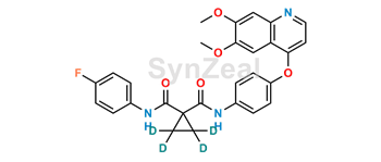 Picture of Cabozantinib D4 (Cyclopropane-ring-D4)
