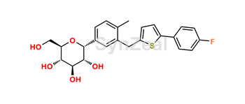 Picture of Cangliflozin  Alpha isomer