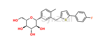 Picture of Cangliflozin  Enantiomer impurity