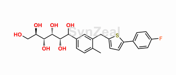 Picture of Canagliflozin Ring opening impurity