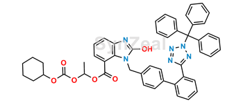 Picture of Candesartan Cilexetil Desethyl N2-Trityl Analog