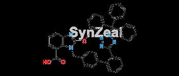 Picture of Candesartan N2-Trityl Methoxy Analog