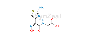Picture of Cefdinir Thiazolylacetyl Glycine Oxime Impurity (USP)