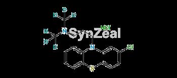 Picture of Chlorpromazine D6 Hydrochloride