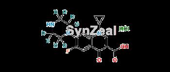 Picture of Ciprofloxacin D8 Hydrochloride
