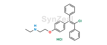 Picture of N-Desethyl Clomiphene HCl (Mixture of Z and E Isomers)