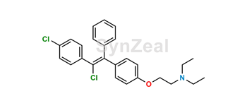 Picture of 4-Chloroclomiphene Z Isomer