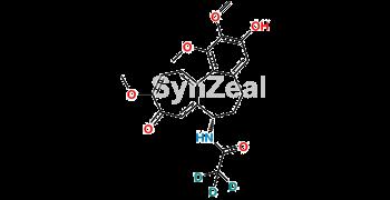 Picture of 3-Demethyl Colchicine D3