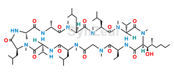 Picture of Cyclosporin A Dihydro Impurity