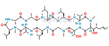 Picture of Cyclosporin C