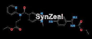 Picture of N-Ethoxycarbonyl Dabigatran Ethyl Ester