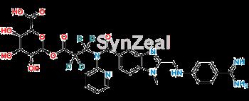 Picture of Dabigatran β-Acyl Glucuronide D4