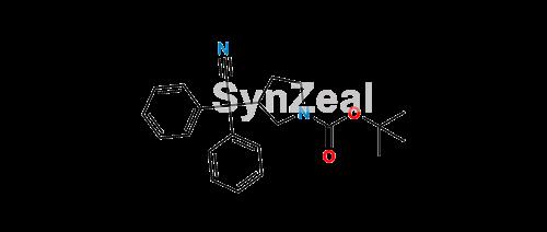 Picture of Darifenacin Cyano t-BOC Impurity