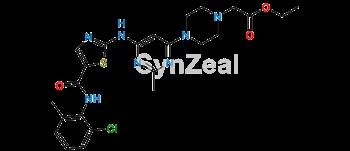 Picture of Dasatinib Carboxylic Acid Ethyl Ester