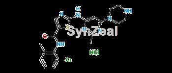Picture of Dasatinib N-Deshydroxyethyl Impurity