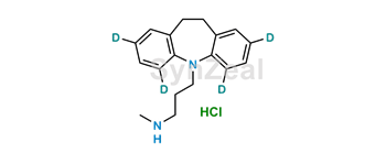Picture of Desipramine-2,4,6,8-d4 Hydrochloride