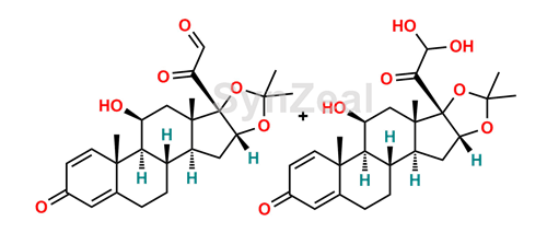 Picture of Desonide glyoxal