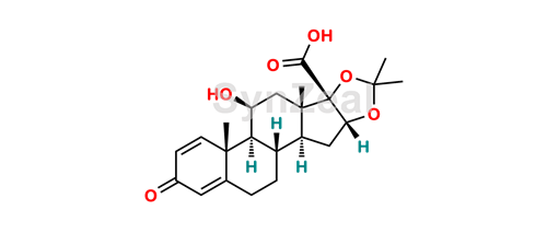 Picture of Desonide 17-Carboxylic Acid