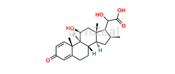 Picture of 17-dehyroxy  Dexamethasone Glyoxilic acid alcohol