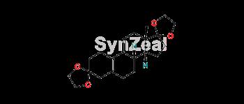 Picture of Estra-5(10),9(11)-diene-3,17-dione Cyclic 3,17-Bis(1,2-ethanediyl acetal)