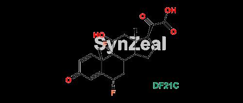 Picture of Difluprednate ketoacid impurity (DF21C)