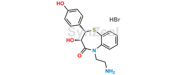 Picture of N,N,O-Tridesmethyl Desacetyl Diltiazem