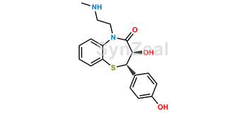Picture of Desacetyl N, O-didesmethyl Diltiazem