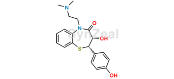 Picture of Deacetyl o-demethyl diltiazem