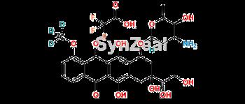 Picture of Doxorubicinol 13CD3-TFA