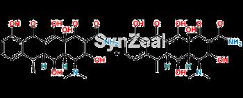 Picture of Impurity Mixture of 6-Epidoxycycline & Methacycline