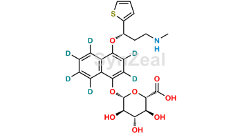 Picture of 4-Hydroxy Duloxetine-d6 beta-D-Glucuronide