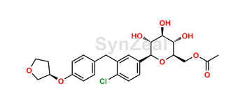 Picture of Empagliflozin MonoAcetyl Impurity