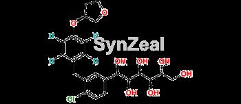 Picture of (1R)-1,5-Dihydroxy Empagliflozin D4