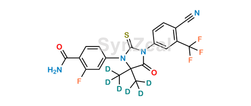 Picture of N-Desmethyl Enzalutamide-d6