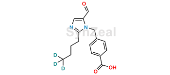 Picture of 4-[(2-Butyl-5-formyl-1H-imidazol-1-yl)methyl]benzoic Acid D3
