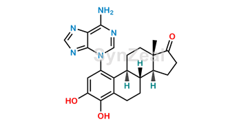 Picture of 4-Hydroxy estrone 1-N3-Adenine