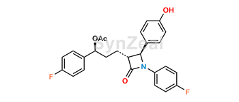 Picture of Ezetimibe 3-O-Acetyl Impurity