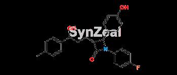 Picture of Ezetimibe Desfluoro Methyl Impurity