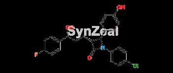 Picture of (R)-Ezetimibe Desfluoro Chloro Impurity