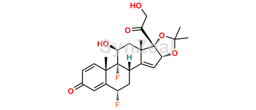 Picture of Fluocinolone Acetonide EP Impurity I