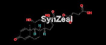 Picture of Methylprednisolone hydrogen succinate EP Impurity E