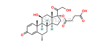 Picture of Methylprednisolone 17-Hydrogen Succinate