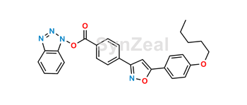 Picture of Micafungin Side Chain Acid Benzotriazole Ester