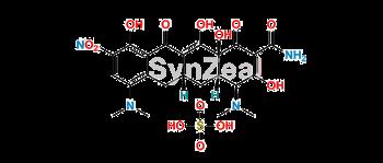 Picture of 9-Nitro Minocycline sulfate salt