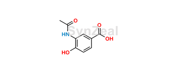 Picture of 3-(Acetylamino)-4-hydroxybenzoic acid
