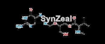 Picture of Ganciclovir mono-N-methyl valinate-1