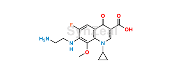 Picture of Gatifloxacin Despropylene Impurity